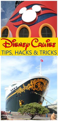 Disney Cruise Tips, Hacks, and Tricks - take tips from the pros on the best way to utilize and make the best of your Disney Cruise Vacation.