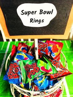 Football Themed Party - Cooks Well With Others : Football Themed Party super bowl rings. Lots of football snacks and ideas in this Football Themed Party post, this could be for a kids birthday party or any special game day celebration! Football Theme Birthday, Sports Themed Birthday Party, 10th Birthday Parties, 1st Boy Birthday, Birthday Ideas, Kids Football Parties, Football Themes, Football Party Games, Kids Football Snacks