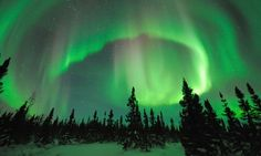 Must go to see the Northern Lights. - Canada wish-list