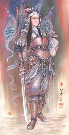 Eastern female armor
