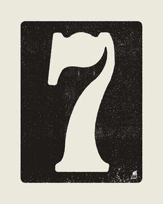 Number 7 - $5.00