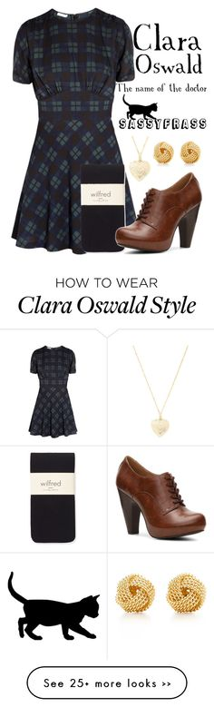 """Clara Oswald - The Name of the Doctor"" by sassyfrasscat on Polyvore"