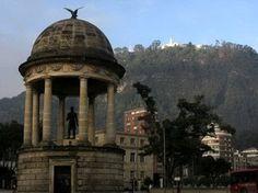 Bogota, Columbia where my friends live.