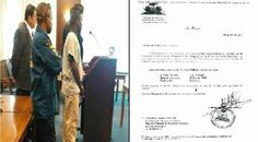 Police Nationale d'Haïti remit l'accusé aux autorités américaines