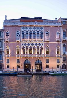 Hotel Danieli, Venice, Italy // about $800 a night. Use the public transport along the canal its cheaper and you can get to and see everything much easier. http://pinterest.com/pin/494410865315348424/