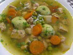 Soup Recipes, Dessert Recipes, Cooking Recipes, Desserts, Hungarian Recipes, World Recipes, Diy Food, Chana Masala, Cheeseburger Chowder