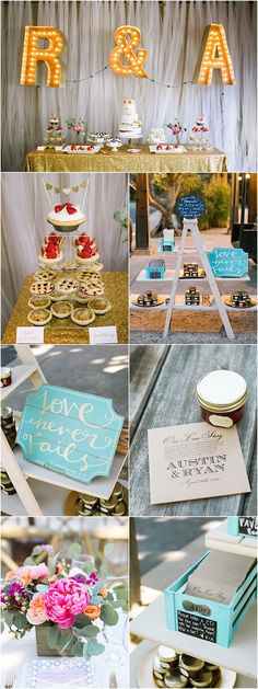 Rustic wedding reception idea; Photo: Jasmine Lee Photography
