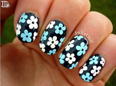 Flowers Nail Art 100+ New Idea for Spring 2018 - Reny styles