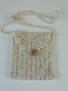 Confirmation Rosary Pouch Flower Girls Irisch Lace Crochet