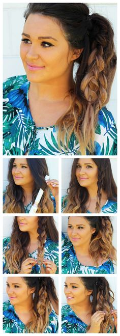 Want to spice up your ponytail? I have the perfect hair tutorial for you! It is fast, easy and can be worn dressed up or down! @nexxus #ad