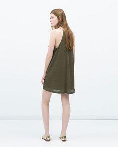 ZARA - WOMAN - SLEEVELESS DRESS