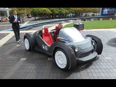 Strati The first 3D printed car. YES, we go for a ride! A new EV IMT... Maybe something for 3D Printer Chat?