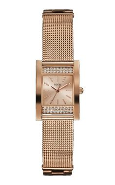 Guess Rose Gold Ladies Watch Crystal W0127L3 * Click image for more details.
