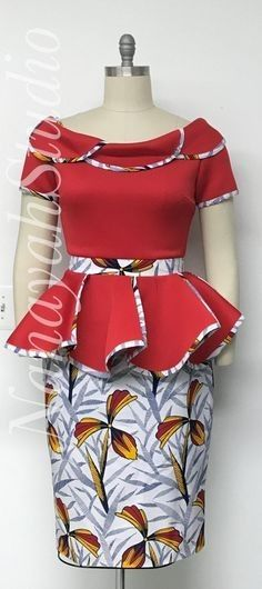 ankara stil Discover hottest ankara styles of 2020 and where to get them. Your resource for the best dashiki and ankara fashion for prom dresses, weddings. Ankara Dress Styles, Latest African Fashion Dresses, African Dresses For Women, African Print Dresses, African Print Fashion, African Attire, Ankara Fashion, Nigerian Fashion, Nigerian Ankara Styles