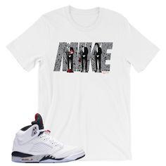 926c51cd37da34 Cement 5 Air Jordan T-Shirt Jordan 5