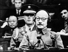 This day in World War II ~ February 21, 1944 ~ Hideki Tojo, prime minister of Japan, took over as army chief of staff giving himself direct control of the Japanese military. His goverment collapsed when Saipan fell to the U.S. Marines and Army on June 22, 1944. Tojo was convicted of war crimes by an international tribunal and was hanged on December 22, 1948.