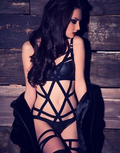 Bodybinds Diamond Monokini - Pinned from @Glossi, a free digital magazine creation platform