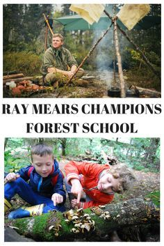 Read here about why you should send your kid to Forest School and Ray Mears thoughts on how kids develop and grow in places like Canada where nature time is so common.