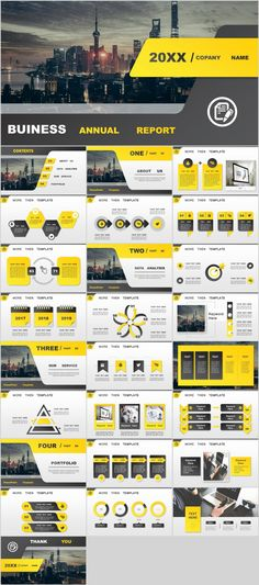 26+ yellow Business annual PowerPoint Presentations template Powerpoint Presentations, Business Powerpoint Templates, Professional Powerpoint Templates, Powerpoint Themes, Powerpoint Presentation Templates, Presentation Slides, Presentation Layout, Business Presentation, Ppt Template