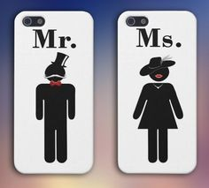 Marriage Silhouette x Engagement Bundle Cases for iPhone and Samsung Galaxy