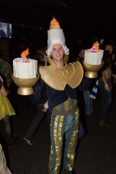 Picture of Lumiere costume Beauty and the Beast