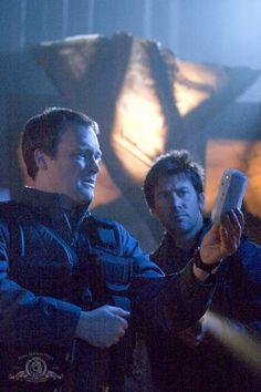 SGA Underground S1E8 - my favorite duo ever Joe Flanigan and David Hewlett / Sheppard and McKay