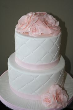 Aija's First Communion Cake! By ladyk333 on CakeCentral.com
