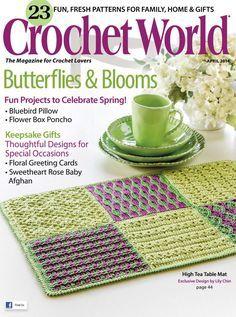 Crochet World - April 2014 - 紫苏 - 紫苏的博客