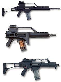 Heckler & Koch G-36, HK G-36C and HK G-36K Assault Rifle ~ forcesmilitary