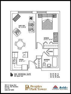 Image result for 400 sq ft floor plans