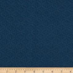 """Adele Matelasse Navy from @fabricdotcom  The French word, matelasse means """"quilted, padded or cushioned"""", itonly appears to bepadded but actually has no padding in the fabric. Matelasse fabric can be very elegant, but is also known for its comfortable, casual design that improves with every washing. Matelasse fabric is usedfor throw pillows, coverlets, duvet covers, pillow shams, slipcovers and upholstery. Alsoperfect for jackets and handbags! This matelasse fabric has 30,000 double…"""