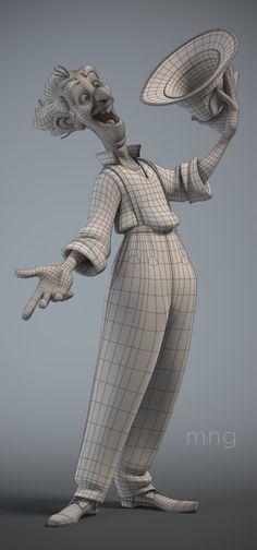 Giacomo Wire uploaded in Marcus Ng: Designed by Borja Montoro.Sculpted in Zbrush,Modeled in Maya,Rendered in Arnold. Character Rigging, 3d Model Character, Character Creation, Character Concept, Character Art, Concept Art, Maya Character Modeling, Low Poly, Character Design Animation