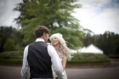 Happy couple at Peppers Convent, Hunter Valley, Image: Something Blue Photography
