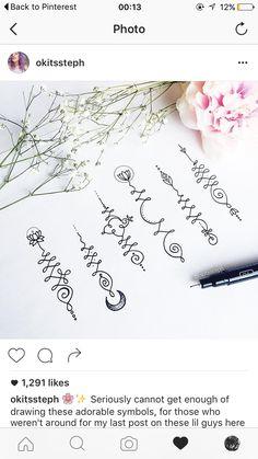 Unalome symbol, tattoo, unalome, Buddhist, mandala