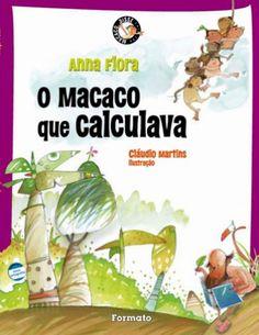 Livro conta a história de micos, gorilas e outros primatas que gostavam de calcular!