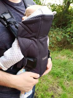 5a54a10f67f Falling in Love with the BabyBjorn Baby Carrier One Air