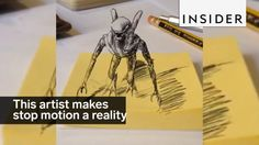 This artist bridges the gap between imagination and the real world and digital animation; Animation Classes, The Real World, Stop Motion, Bridges, 2d, Imagination, Digital, Memes, Videos