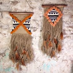 «I've made a friend cause life is better together  ps both of these tribal beauties are available in my etsy store »