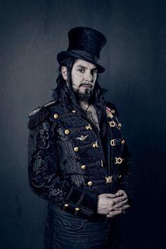 Steampunk male portrait