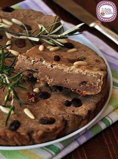 Castagnaccio- Italian tradizional cake