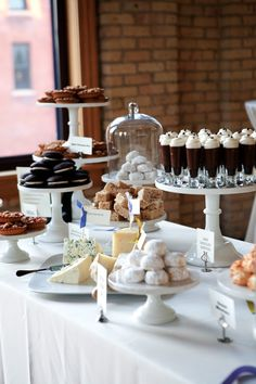 Sweets table at Wedding