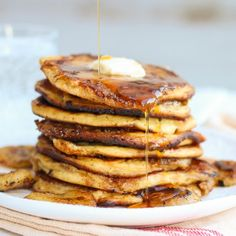 How to Make Really Good Banana & Brown Sugar Pancakes