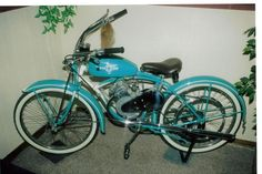 Image detail for -... one i did a few years back 47 schwinn w the whizzer motor attachment