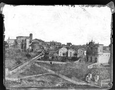 Piazza di San Gregorio ca) Roman History, Civilization, Old Photos, Rome, World, City, Painting, Antique, Photos