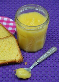 Lemon curd sans beurre, cuisson au bain marie