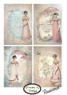 Renaissence--Digital Scrapbooking-Collage Sheet-Digital Image-Digital Card