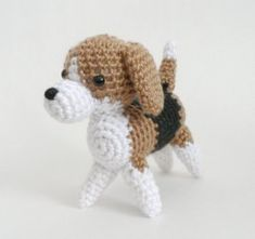 AmiDogs Beagle amigurumi crochet pattern