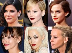 How To Pull Off That Ear Cuff Trend Everyone's Doing Celeb Ear Cuffs.  Dina Manzo, Rita Ora, Jennifer Lawrence, Emma Watson, Rashida Jones, Sandra Bullock. Isabel Marant