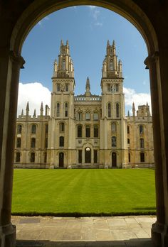 All Souls College - founded by Henry VI of England in 1438.