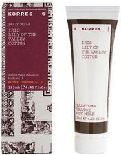 KORRES BODY MILK - LOTION WITH IRIS , LILY OF THE VALLEY AND COTTON 125ml